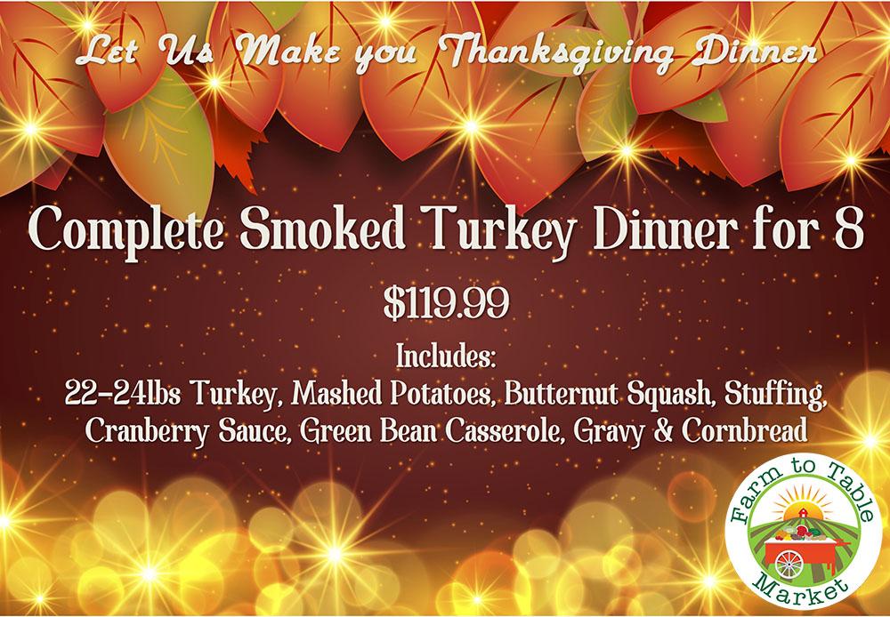 Order Thanksgiving Dinner